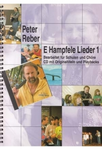 E Hampfele Lieder 1: CDs, Songbook + Noten