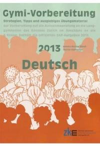 Gymi-Vorbereitung Deutsch 2013